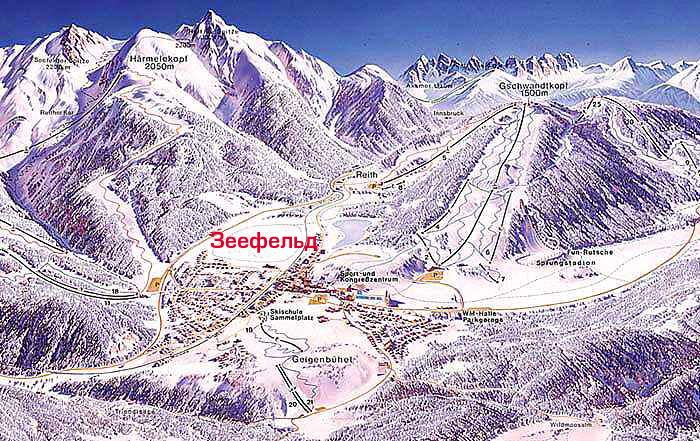 Зеефельд (Seefeld) - австрийский горнолыжный курорт в 20 км от Инсбрука, расположен на горном плато в окружении...